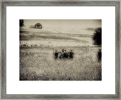On The Battlefield - Gettysburg Framed Print by Bill Cannon
