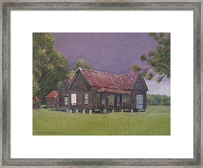 On The Blocks Framed Print by Peter Muzyka