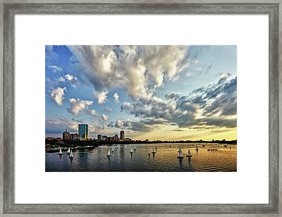 On The Charles II Framed Print