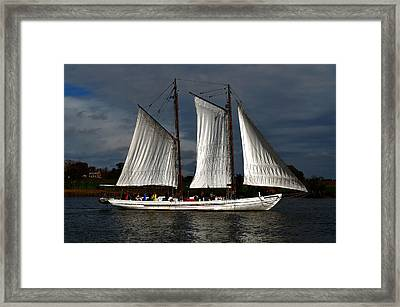 The A. J. Meerwald Framed Print by Richard Ortolano