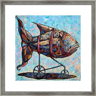 On The Conquer For Land Framed Print by Darwin Leon