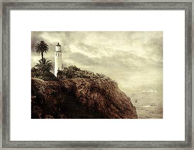 Framed Print featuring the photograph On The Edge by Douglas MooreZart