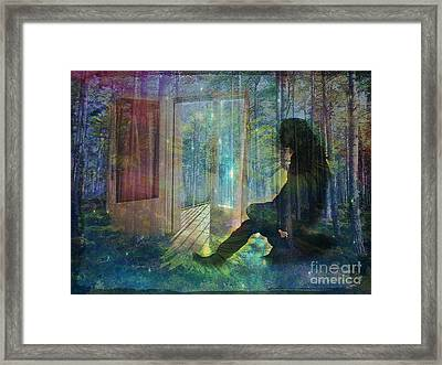 On The Edge Of Summerland 2015 Framed Print