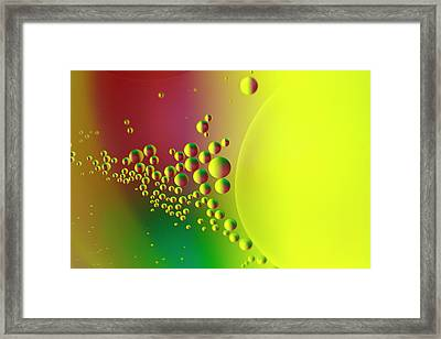 On The Far Side Of The Sun Framed Print by Rebecca Cozart
