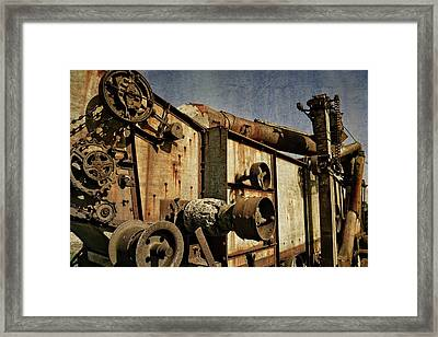 Framed Print featuring the photograph On The Farm 2.0 by Michelle Calkins