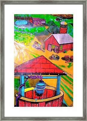 On The Farm Framed Print by Anita Williams