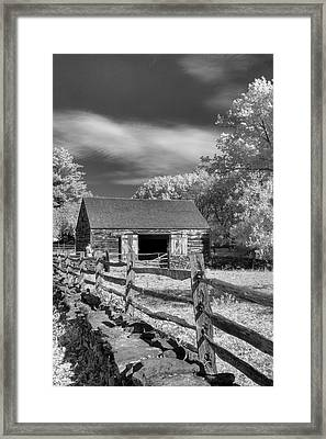 On The Farm Framed Print by Joann Vitali