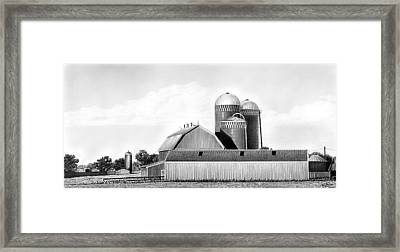On The Farm Framed Print by Lyle Brown