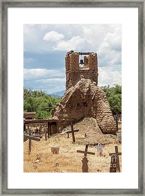 Framed Print featuring the photograph On The Hill by Sandy Adams
