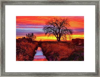 Framed Print featuring the photograph On The Horizon by Greg Norrell