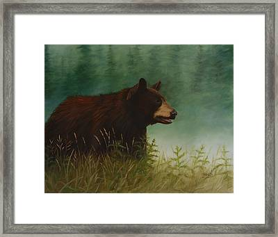 On The Hunt Framed Print