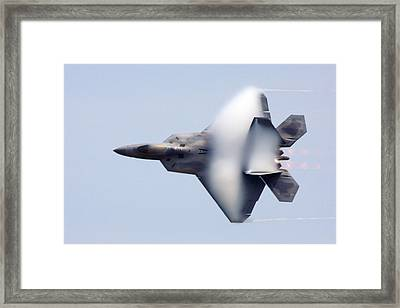On The Infinite Highway Framed Print by Mitch Cat