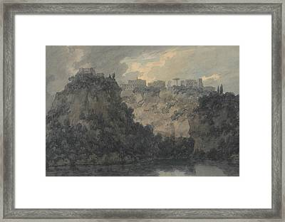 On The Lake Of Nemi Framed Print