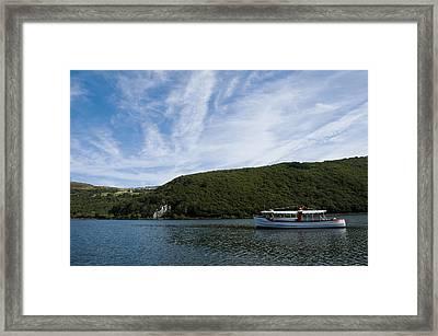 On The Lake Framed Print by Svetlana Sewell