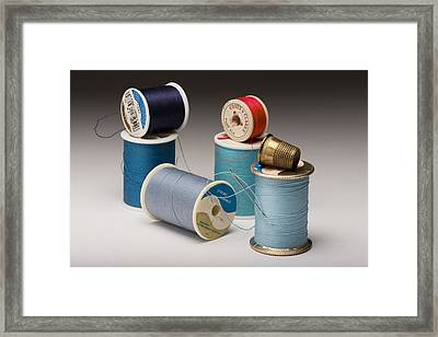 On The Mend Framed Print by Don Spenner