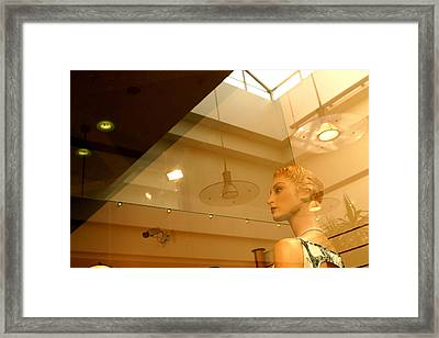 On The Mend Maggie Framed Print by Jez C Self