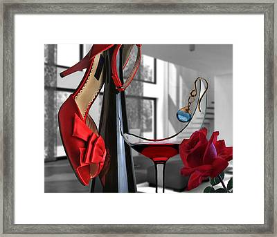 On The Morning After Framed Print