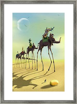 On The Move 2 Framed Print