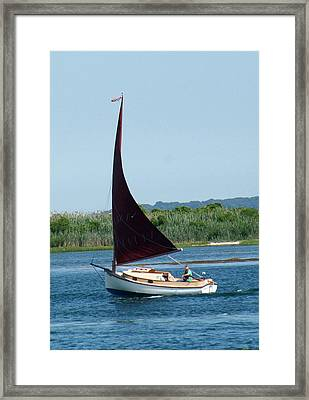 On The Move Framed Print by Gerald Mitchell
