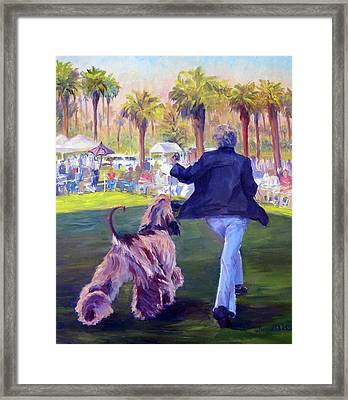 On The Move Framed Print by Terry  Chacon