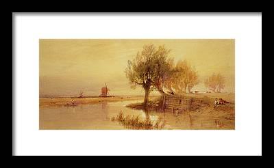 Norfolk Broads Framed Prints