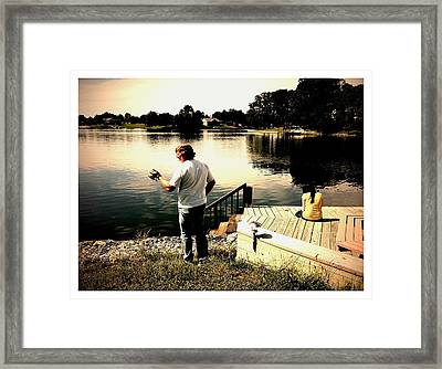 On The Other Hand Framed Print by John McGarity