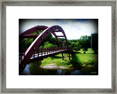 On The Other Side Framed Print by Trina Prenzi