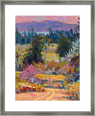 On The Peninsula Framed Print by Brian Simons