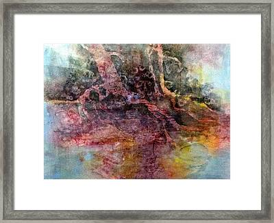 On The Peninsula Framed Print