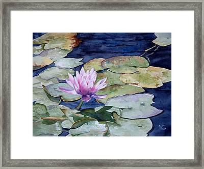 On The Pond Framed Print by Bobbi Price