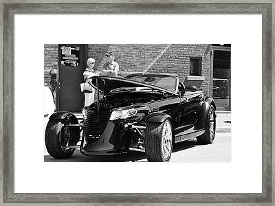 Framed Print featuring the photograph On The Prowl by Al Fritz