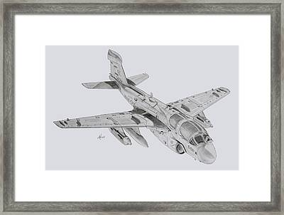 On The Prowl Framed Print by Nicholas Linehan