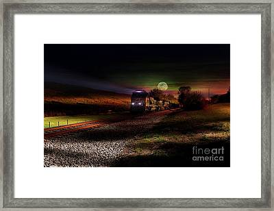 On The Prowl Framed Print by Rick Lipscomb