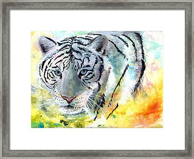 On The Prowl Framed Print