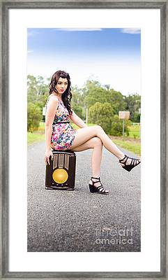 On The Radio  Framed Print by Jorgo Photography - Wall Art Gallery