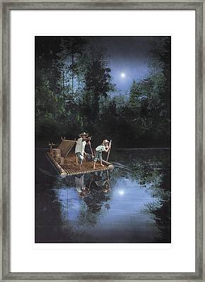 On The River Framed Print by Harold Shull