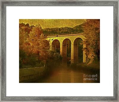 On The River Framed Print by KaFra Art