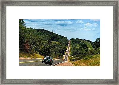 On The Road Again Framed Print by Jeff S PhotoArt
