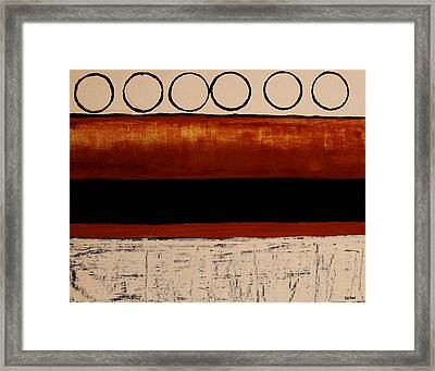 On The Road Again Framed Print by Marsha Heiken