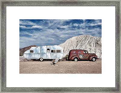 On The Road Again Framed Print by Renee Sullivan