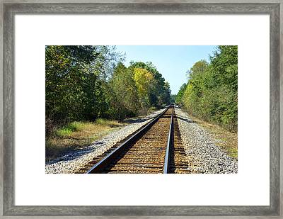 On The Road Again Framed Print by Skip Willits