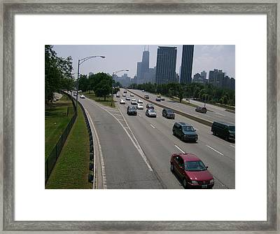 Framed Print featuring the photograph Drive The Road Again by Skyler Tipton