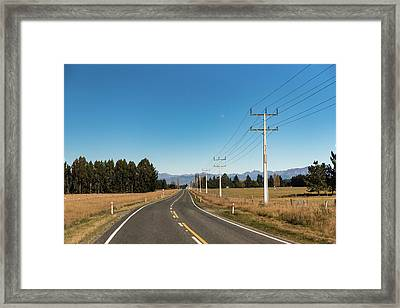 Framed Print featuring the photograph On The Road by Gary Eason