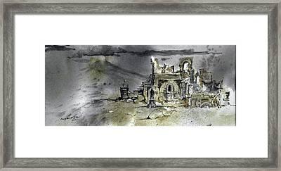 On The Road II Framed Print