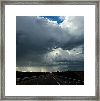 On The Road No 2 Framed Print