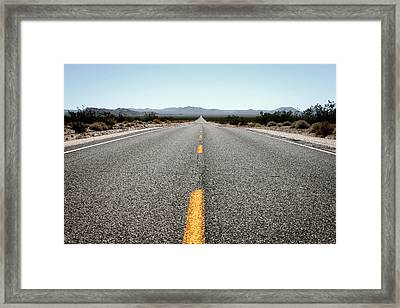 On The Road Framed Print by Shane Rees