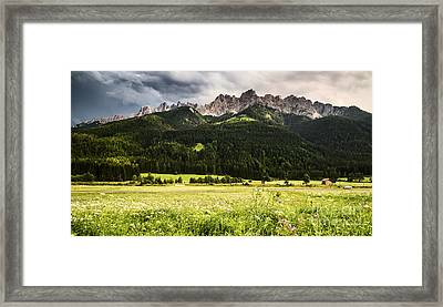 On The Road Framed Print by Yuri Santin