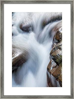 On The Rocks Framed Print by Az Jackson