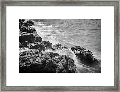 Ocean Rocks Framed Print