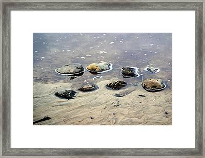 On The Rocks Framed Print by Marty Koch